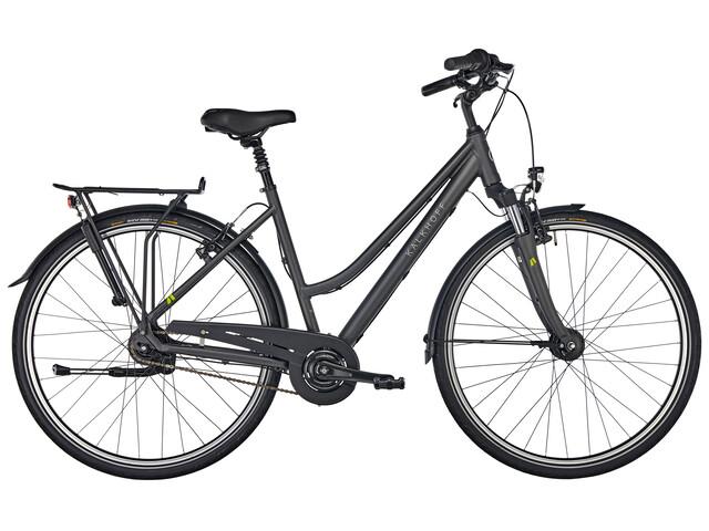 """Kalkhoff Agattu 8R Trapez - Vélo de ville - 28"""" noir"""